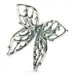 Trollbeads Bead Silver Big Butterfly